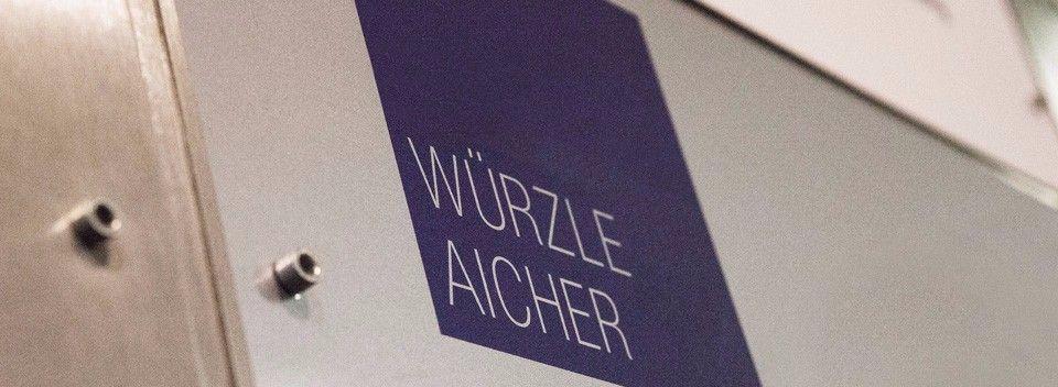 Kanzleischild - Würzle Aicher Rechtsanwälte - Fachanwalt für Erbrecht München